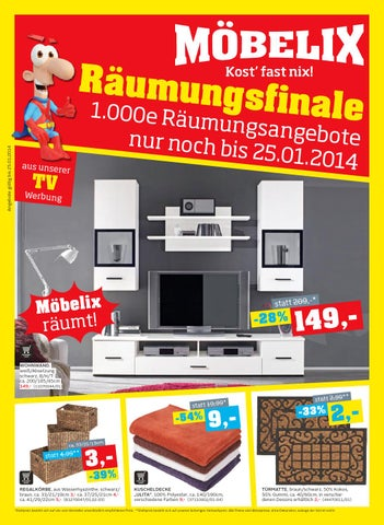 Moebelix Angebote 13 25janner 2014 By Promoangebote At Issuu