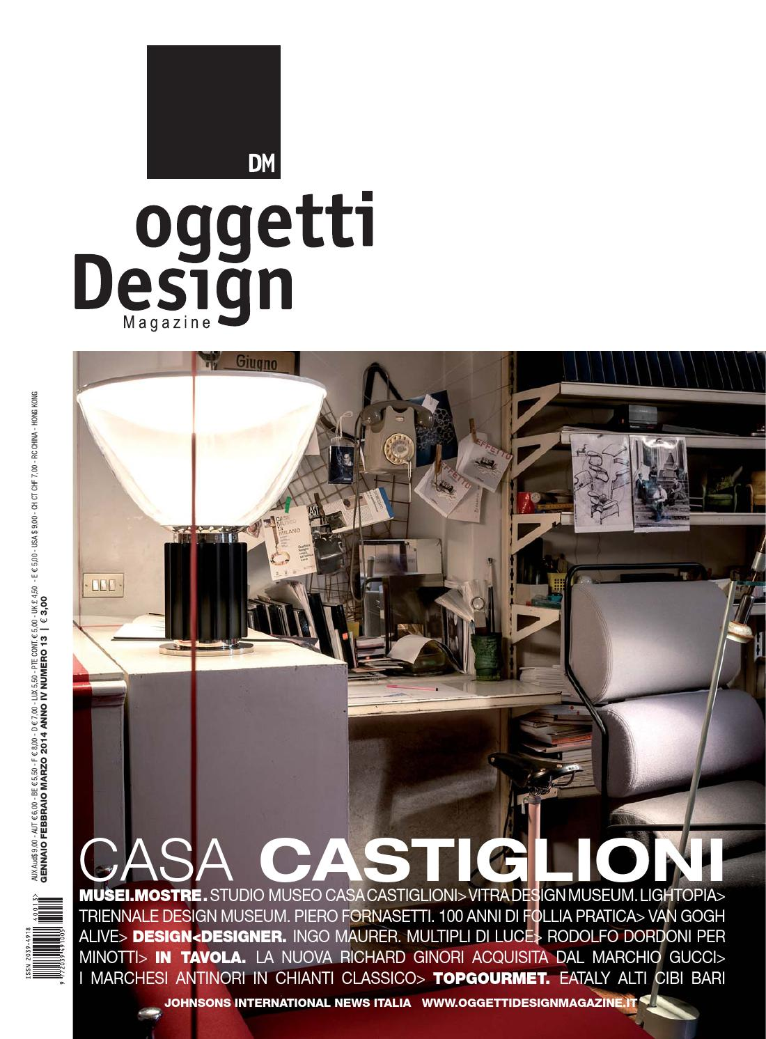 Dm oggetti design magazine by johnson web for Oggetti design
