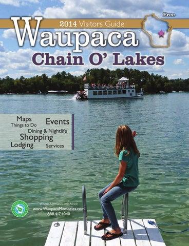 Iola Winter Carnival 2020.2014 Waupaca Chain O Lakes Visitor Guide By Waupaca Area