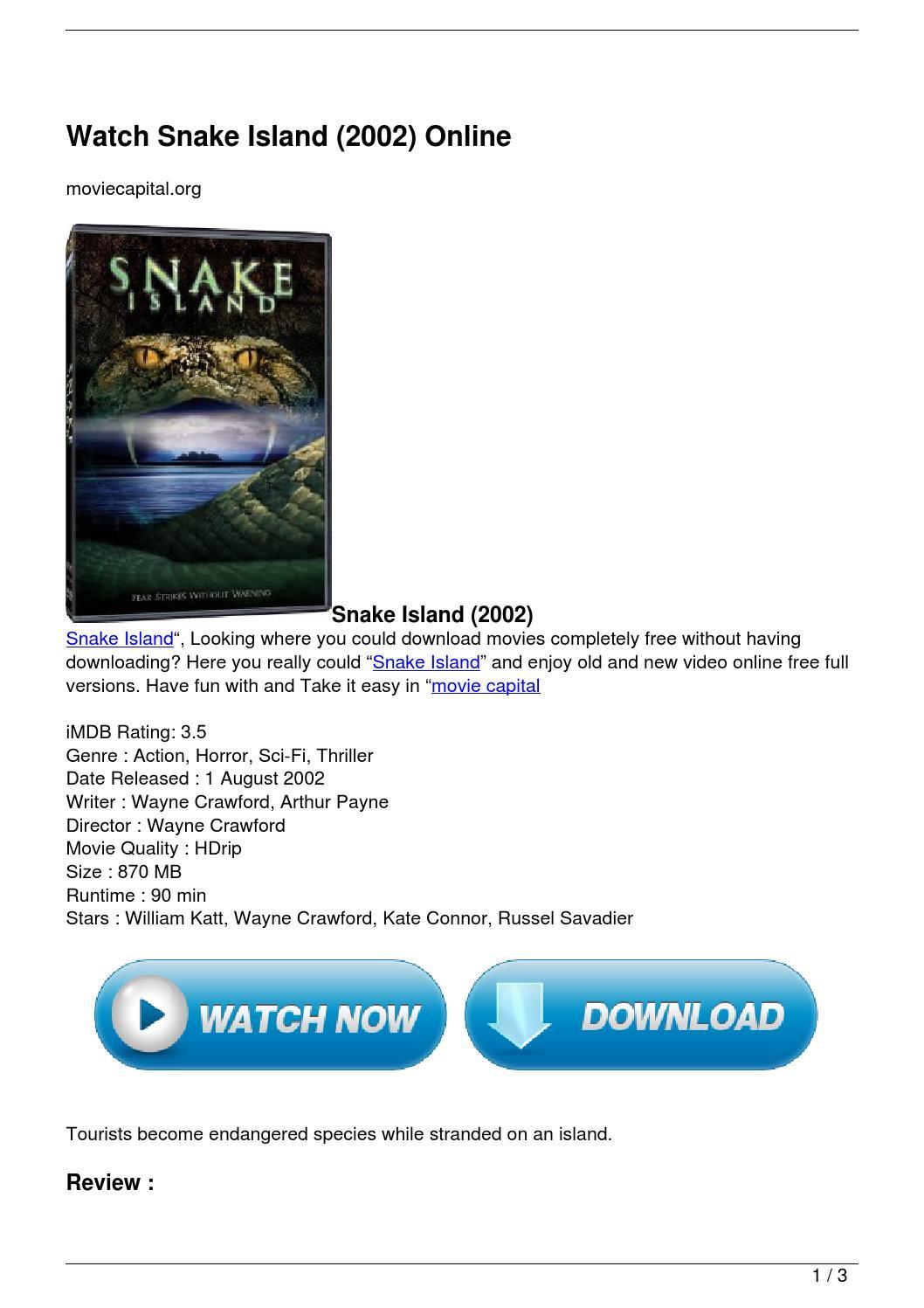 Watch Treasure Quest: Snake Island Season 2 Online for ...