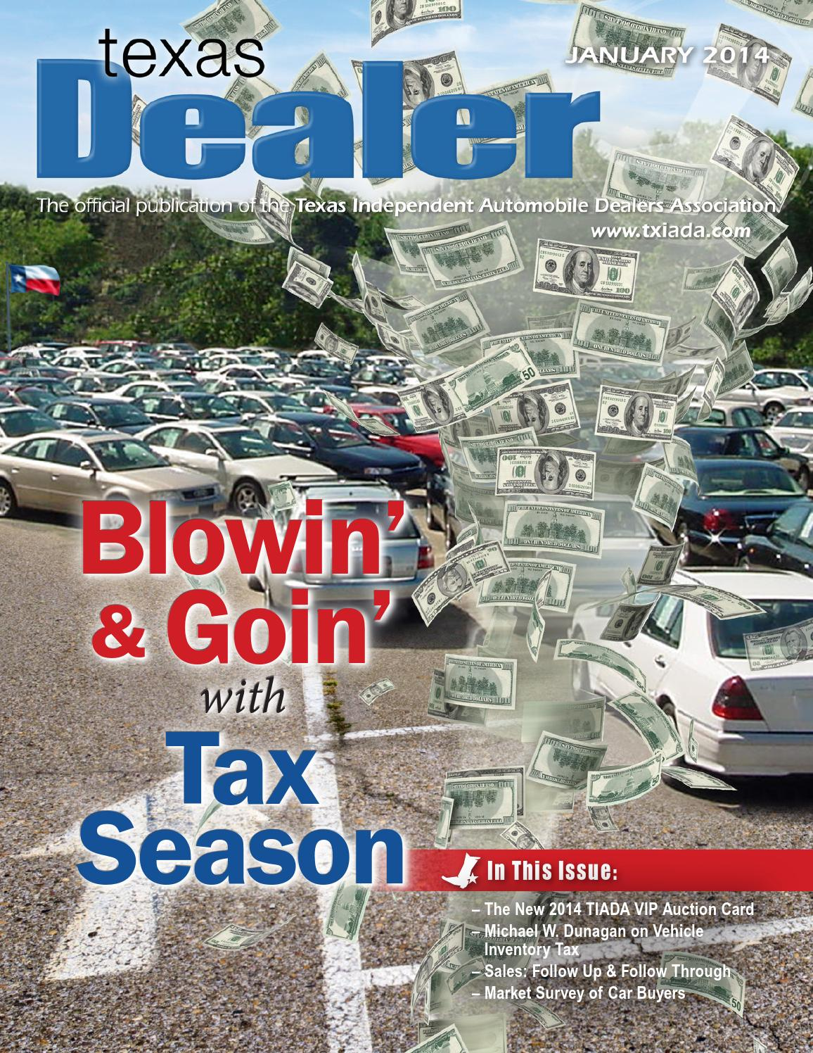 Texas Dealer January 2014 By Texas Independent Auto Dealers