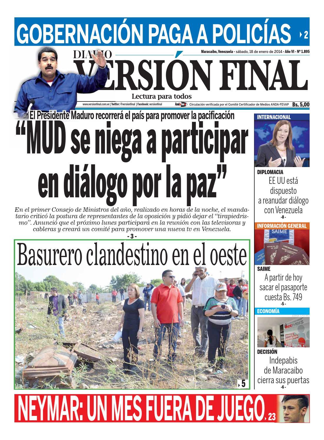 Diario Versión Final by Diario Versión Final - issuu