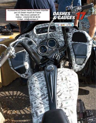 Accessoire Harley-Davidson Piece Moto Custom Jauge US Import ... on