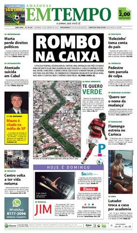 4087c151a EM TEMPO - 19 de janeiro de 2014 by Amazonas Em Tempo - issuu