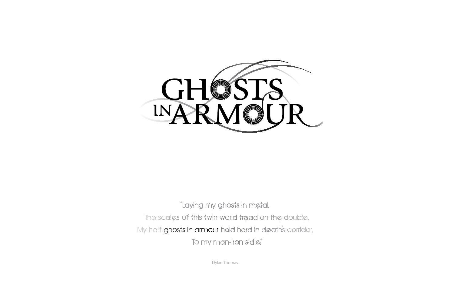 Ghosts in Armour by Matt Wright - issuu 818cb33e726c3