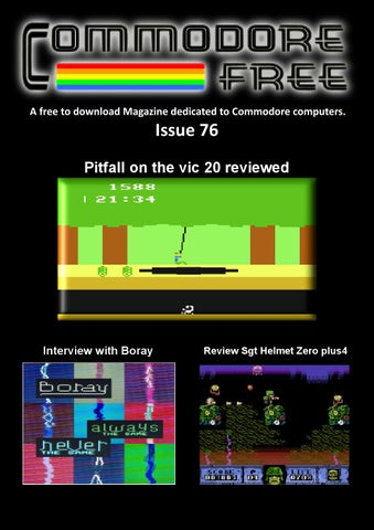 COMMODORE FREE Issue 72 by Commodore Free Magazine - issuu