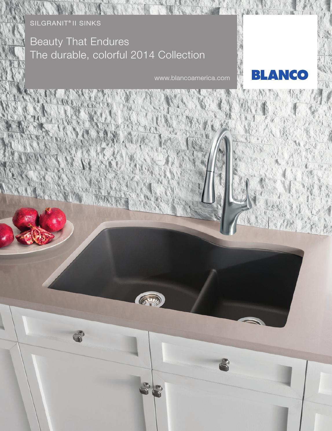 Attirant BLANCO 2014 SILGRANIT Sink Brochure By BLANCO   Issuu