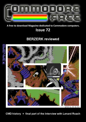COMMODORE FREE Issue 72 by Commodore Free Magazine - issuu