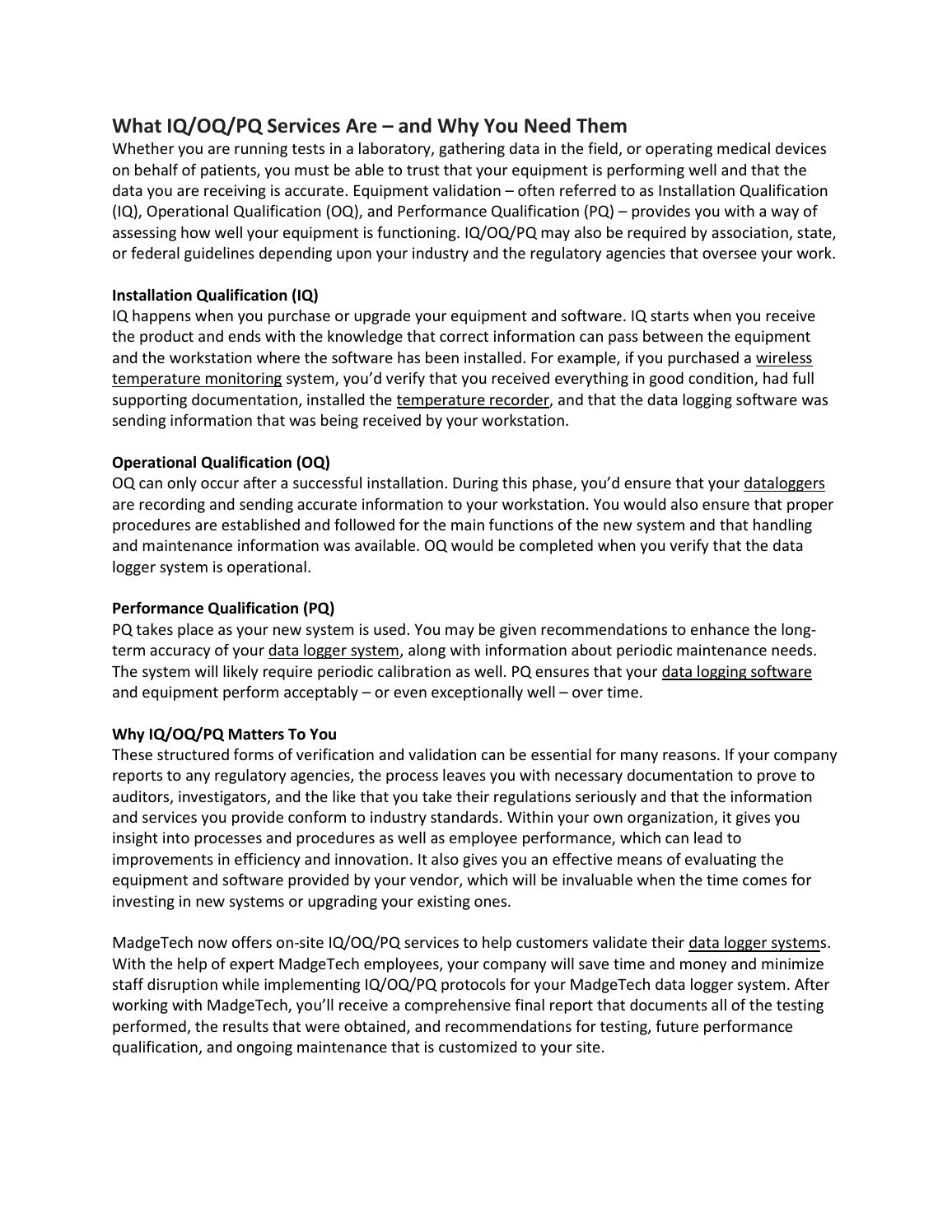 Snap Fine Iq Oq Pq Template Gift Example Resume And Template