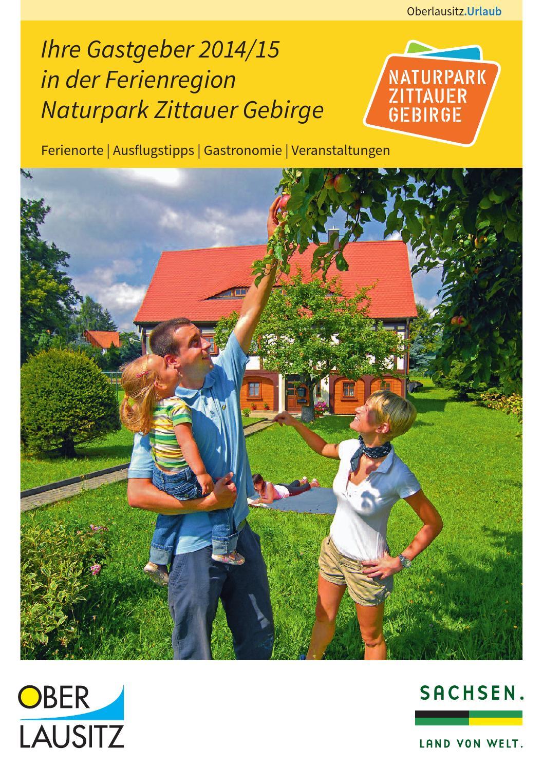 Ihre Gastgeber 2014/2015 in der Ferienregion Naturpark Zittauer ...