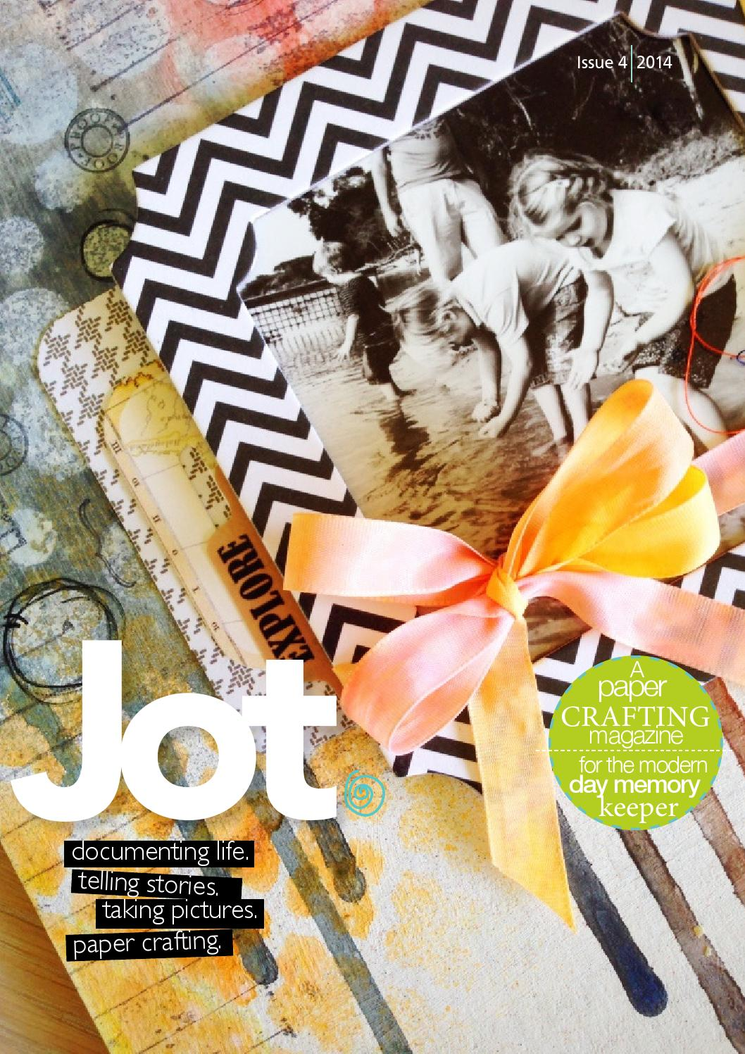 How to scrapbook magazines - Issue 4 It S Here