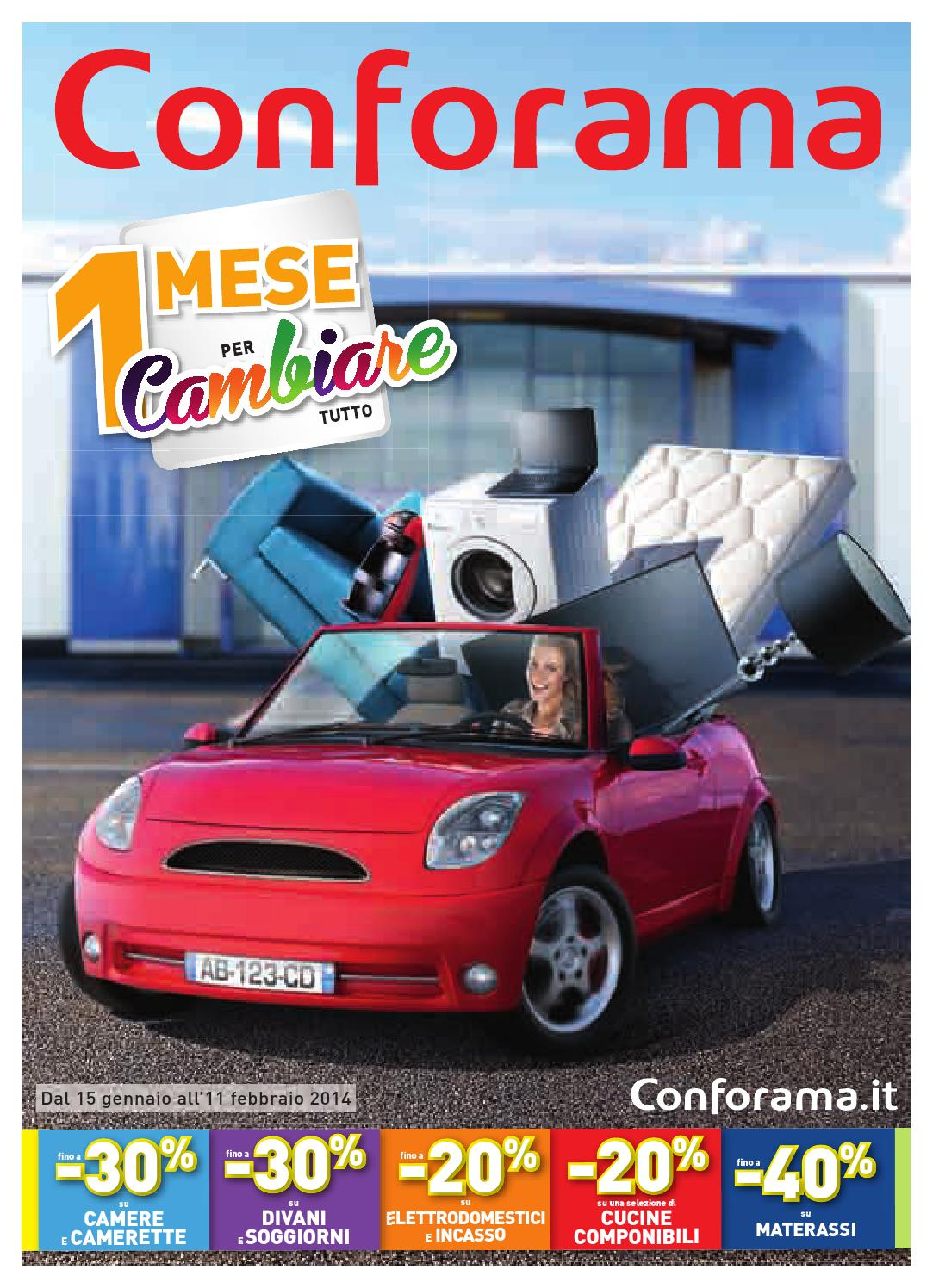 Conforama volantino 15gennaio 11febbraio2014 by ...