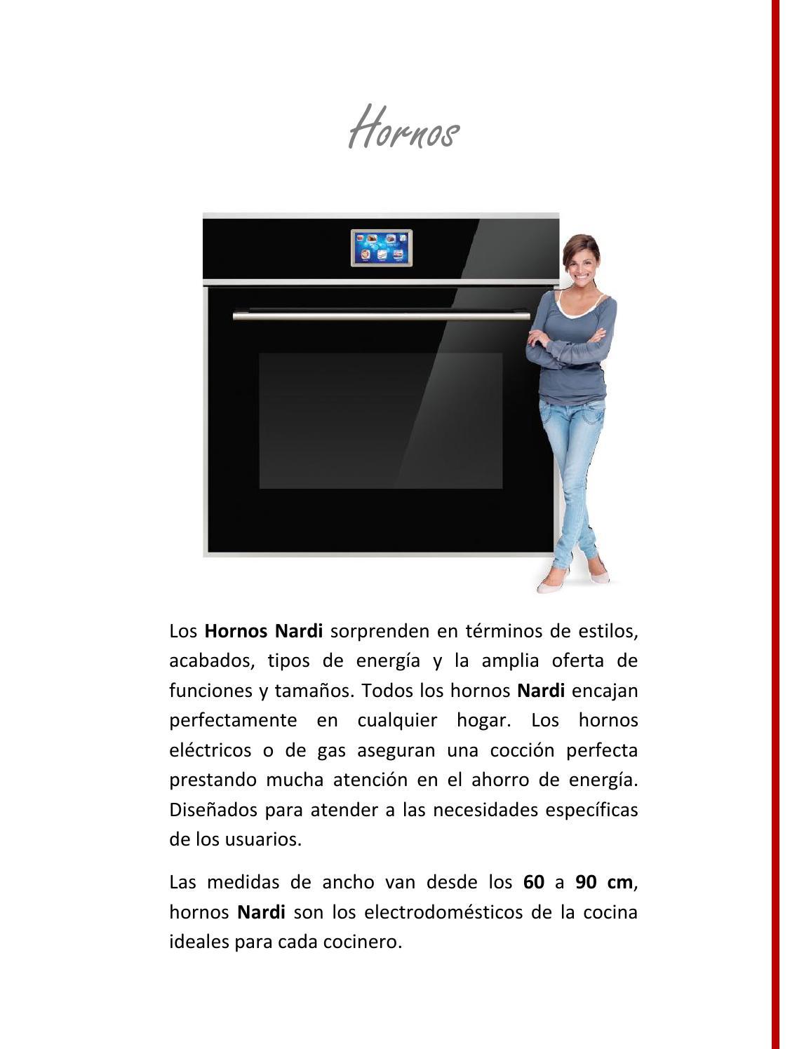 Hornos by dy p santa cruz issuu for Medidas de hornos electricos
