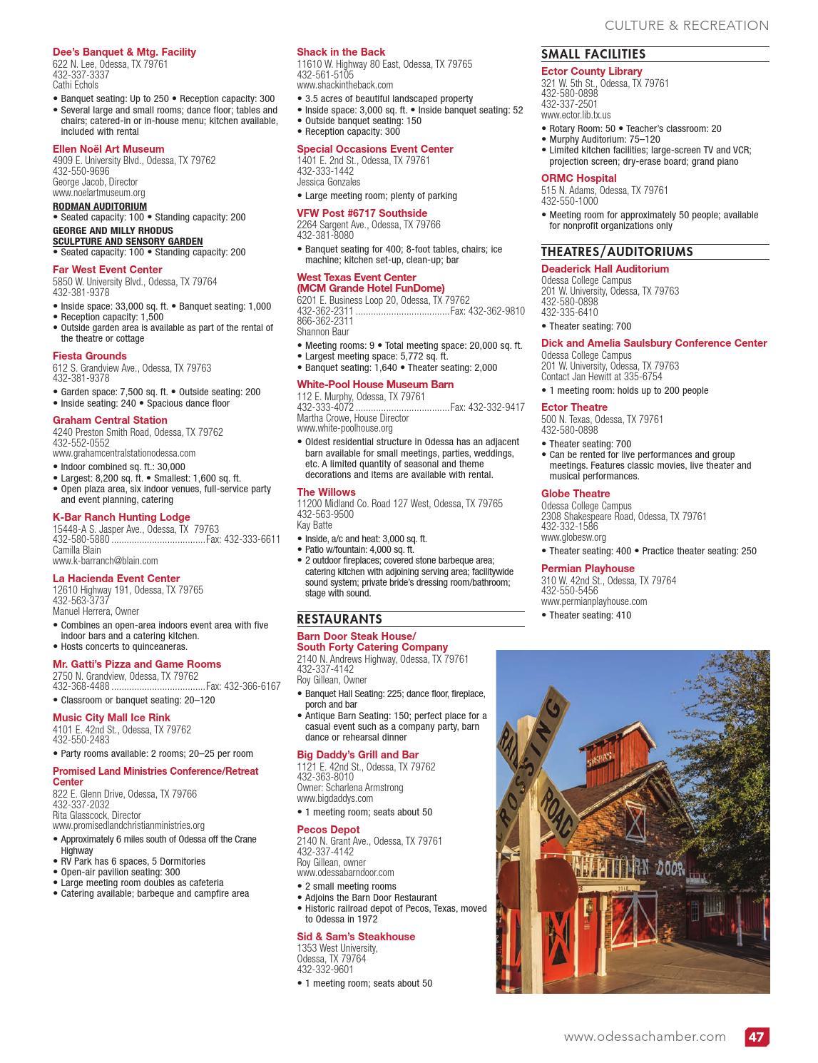 Odessa Tx 2014 Community Profile And Resource Guide By Tivoli