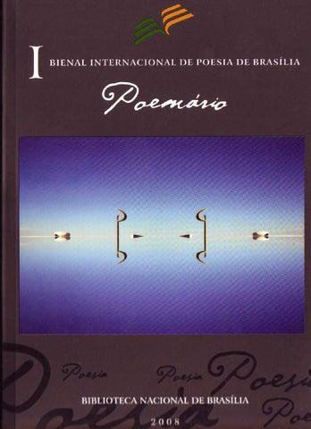 18a19ecd8b9 I BIENAL INTERNACIONAL DE POESIA DE BRASÍLIA - POEMÁRIO