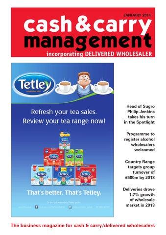 7c4c5df396 C C Management Jan 14 by Cash   Carry Management - issuu