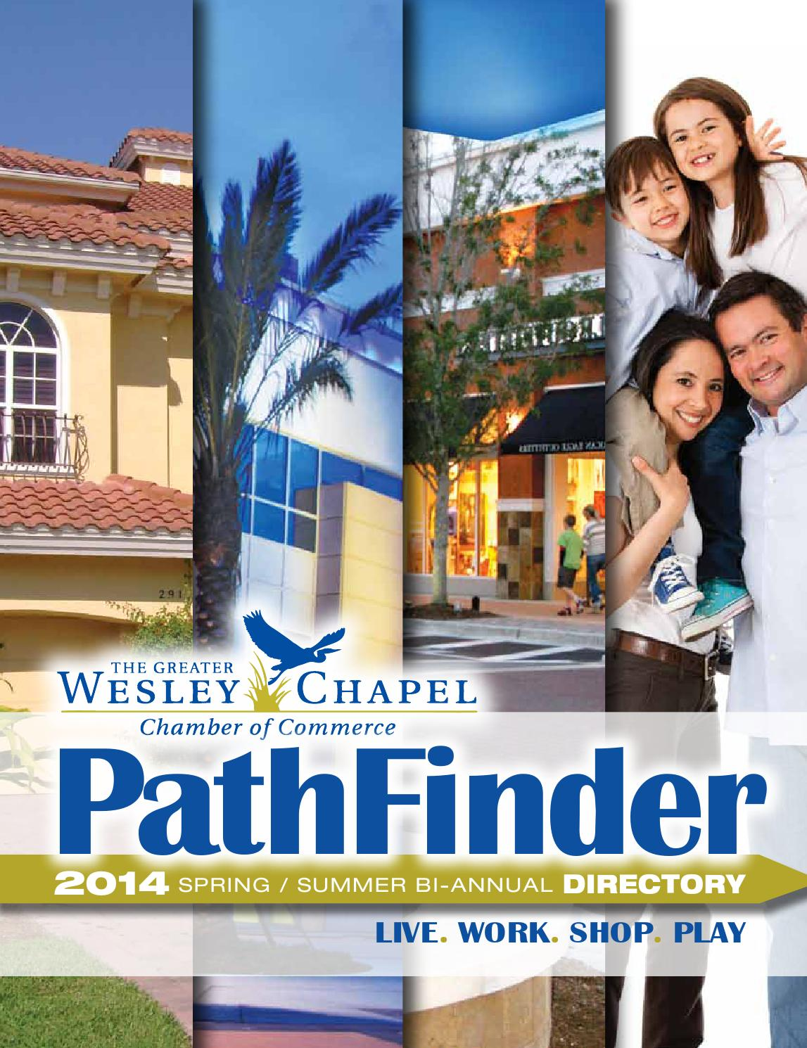 Wesley Chapel Chamber Of Commerce Spring Summer 2014