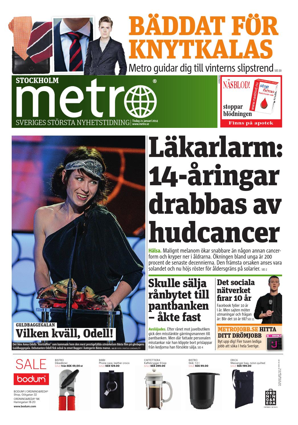 20140121 se stockholm by Metro Sweden - issuu 4bd79a2241f18