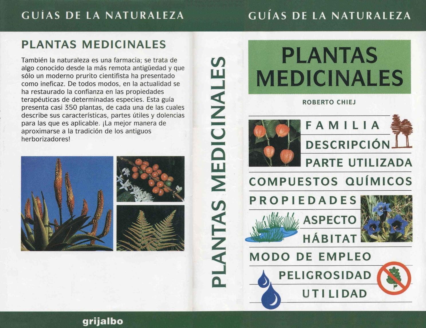 Guia plantas medicinales roberto chiej by navetierra pa for Para q sirven las plantas ornamentales