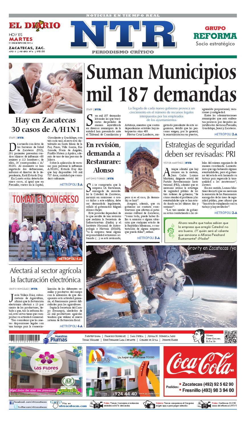 El Diario NTR by NTR Medios de Comunicación - issuu d53f748e0880e