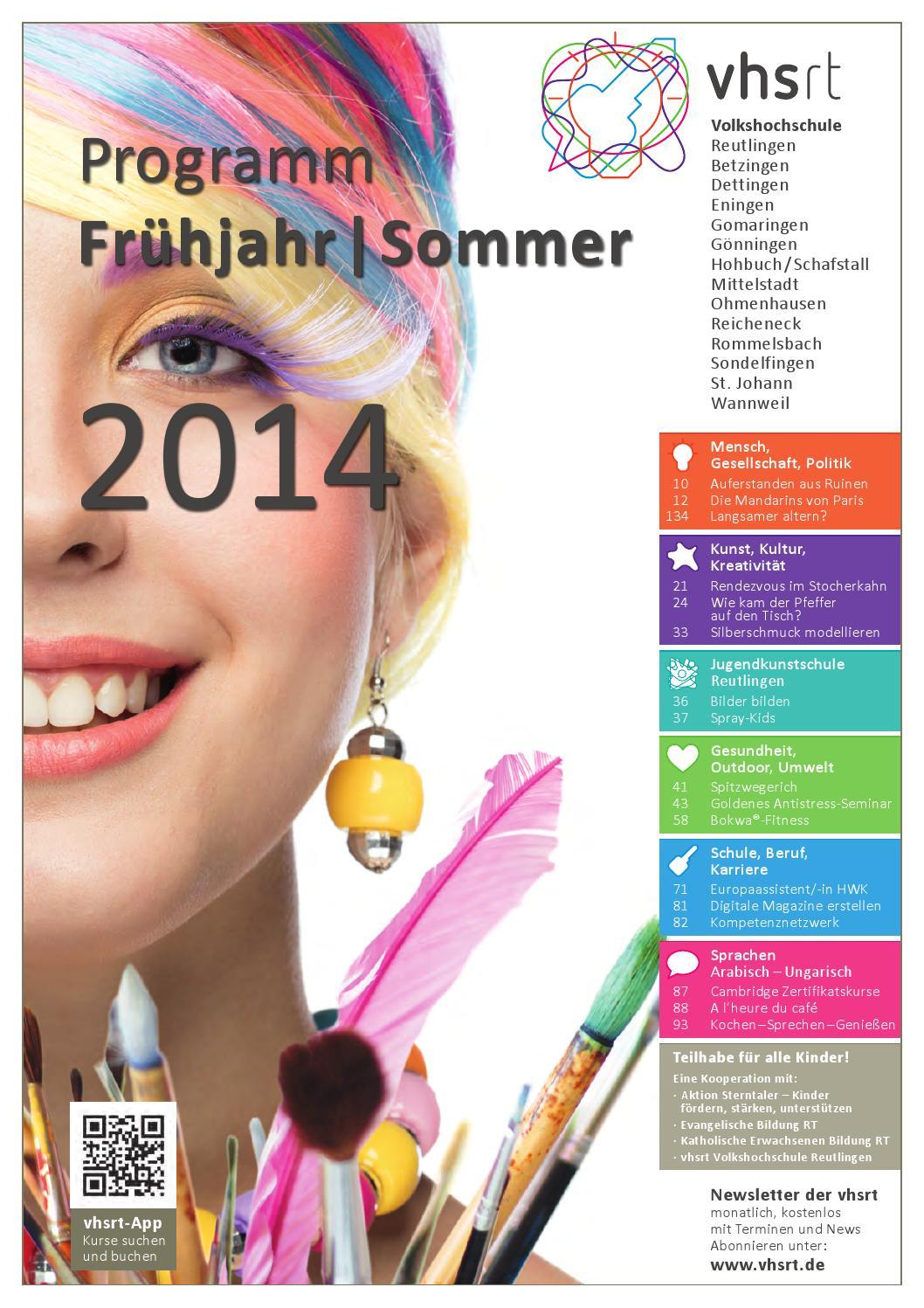 Programm Frühjahr/Sommer 20 by Volkshochschule Reutlingen   issuu
