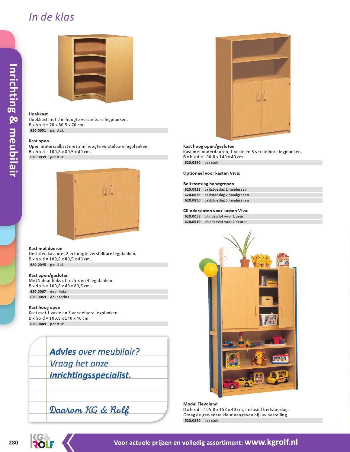 Kg Rolf Catalogus Basisonderwijs Inrichting Meubilair