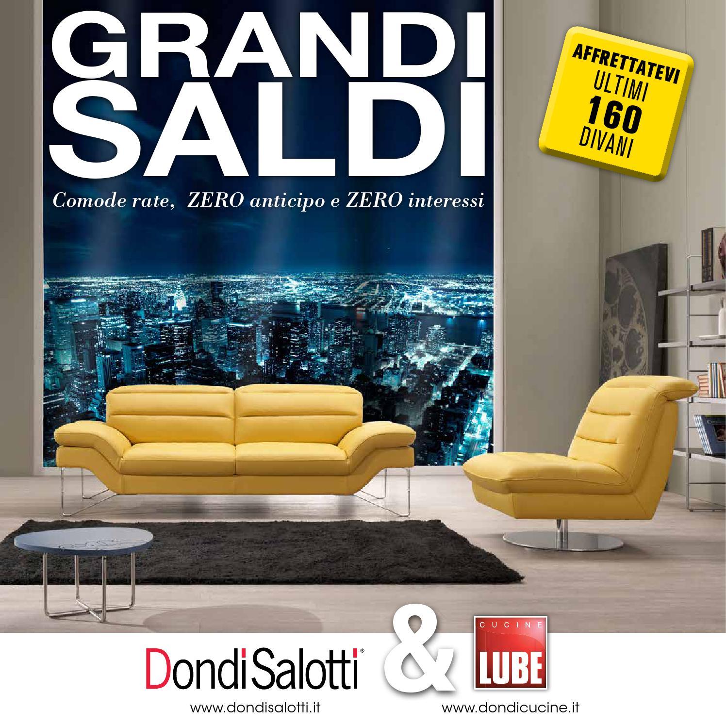 Saldi Dondi Salotti.Volantino Grandi Saldi Dondi Salotti By Pierpaolo Dondi Issuu