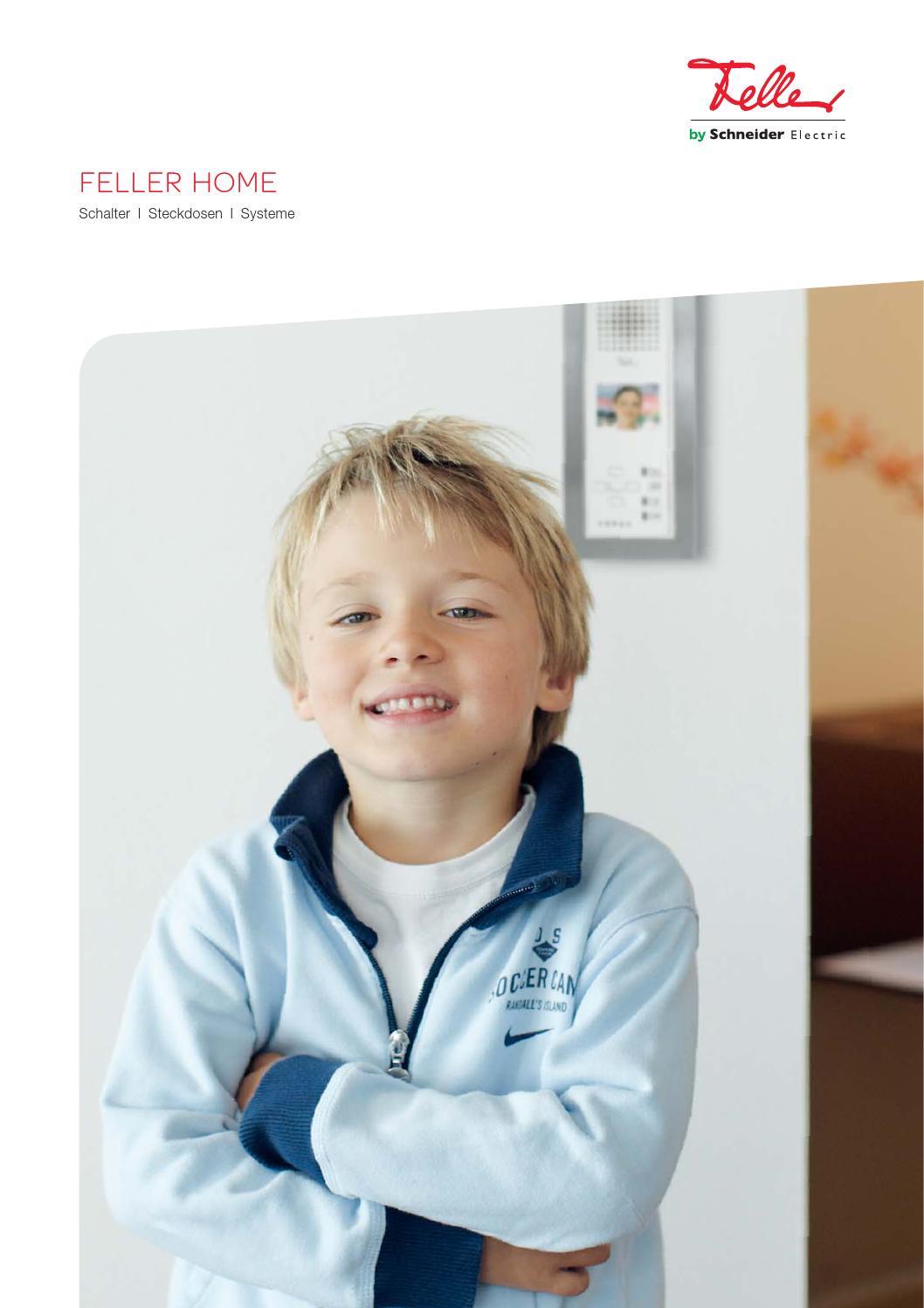 Endkundenbroschüre Feller HOME by Feller AG - issuu