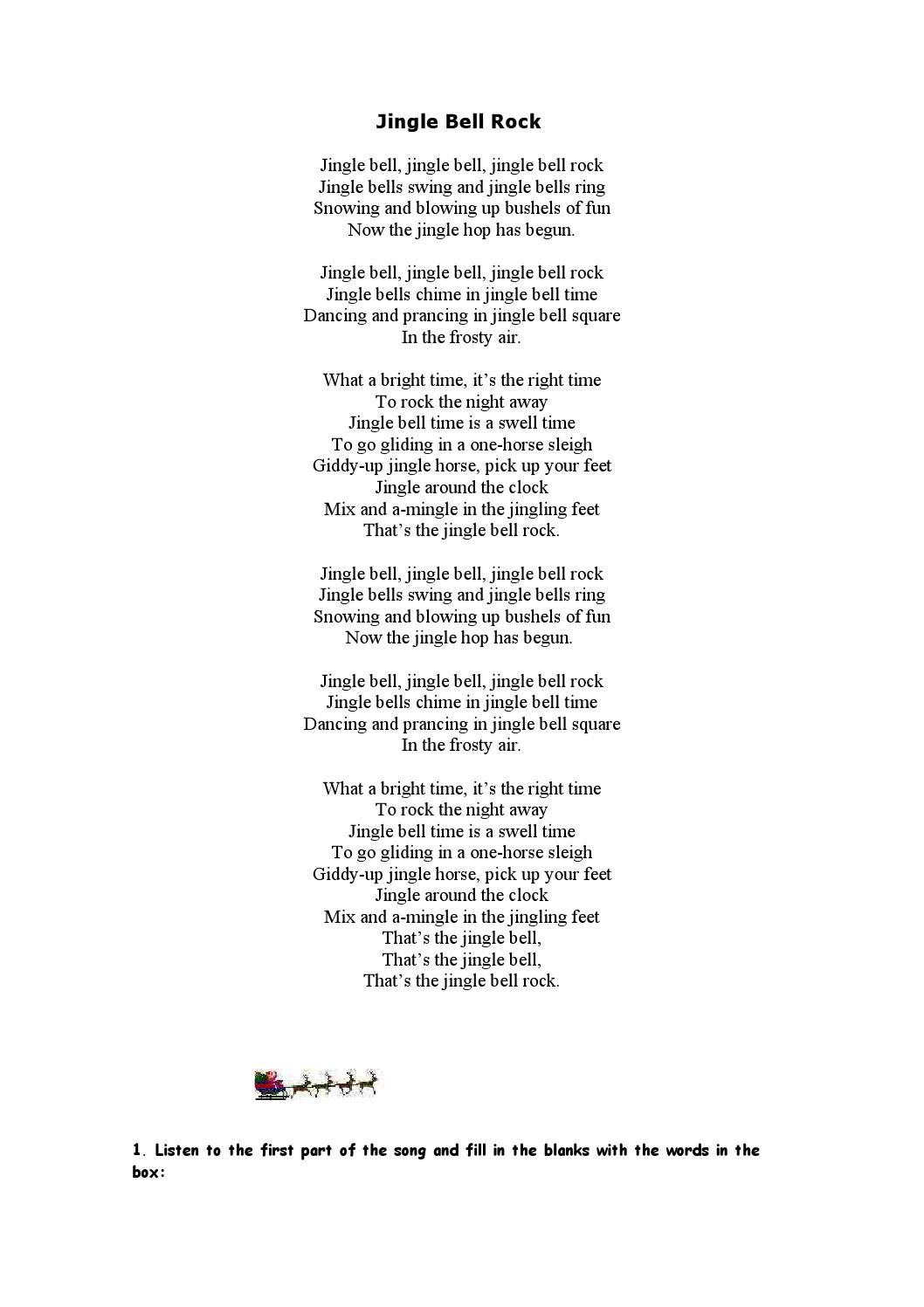 Jingle bell rock by Ismael Fernandez - issuu