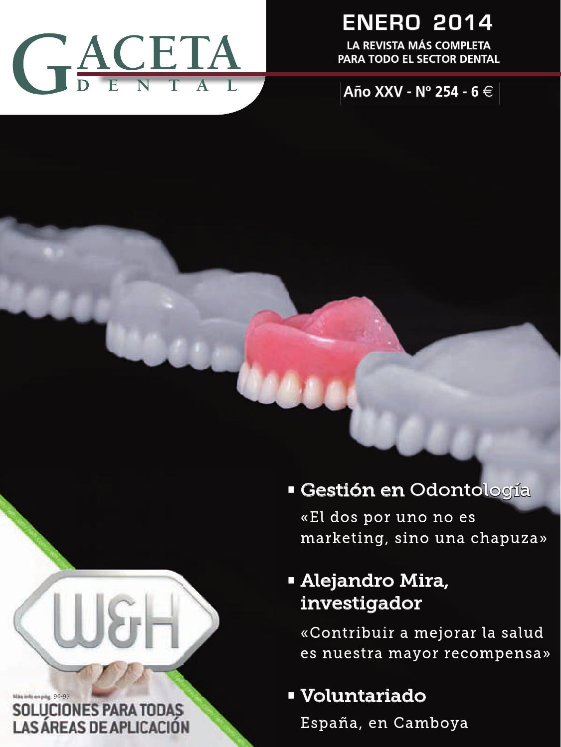 Gaceta Dental - 254 by Peldaño - issuu