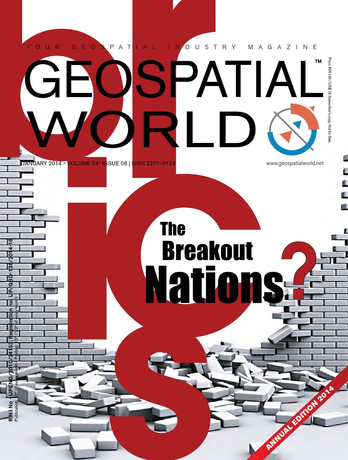 January 2014 Edition by Geospatial Media - issuu
