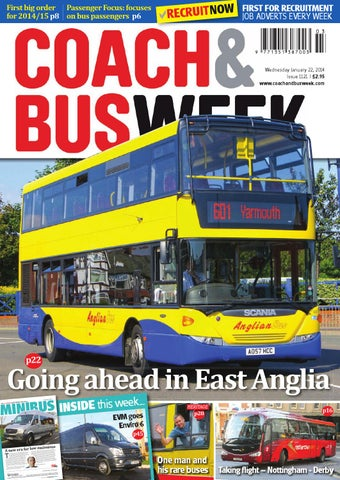 dc9dbe0d6f31d8 Coach   Bus Week   Issue 1121 by Coach and Bus Week   Group Travel ...