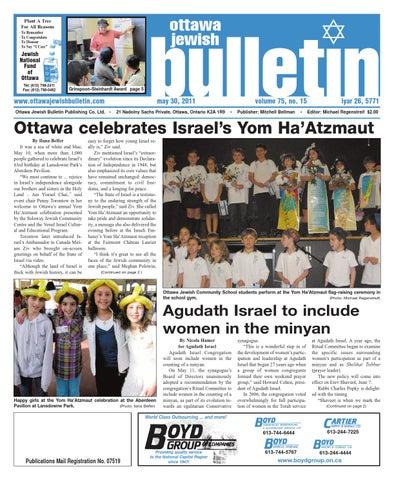 Ottawa jewish bulletin 2011 05 30(inaccessible)