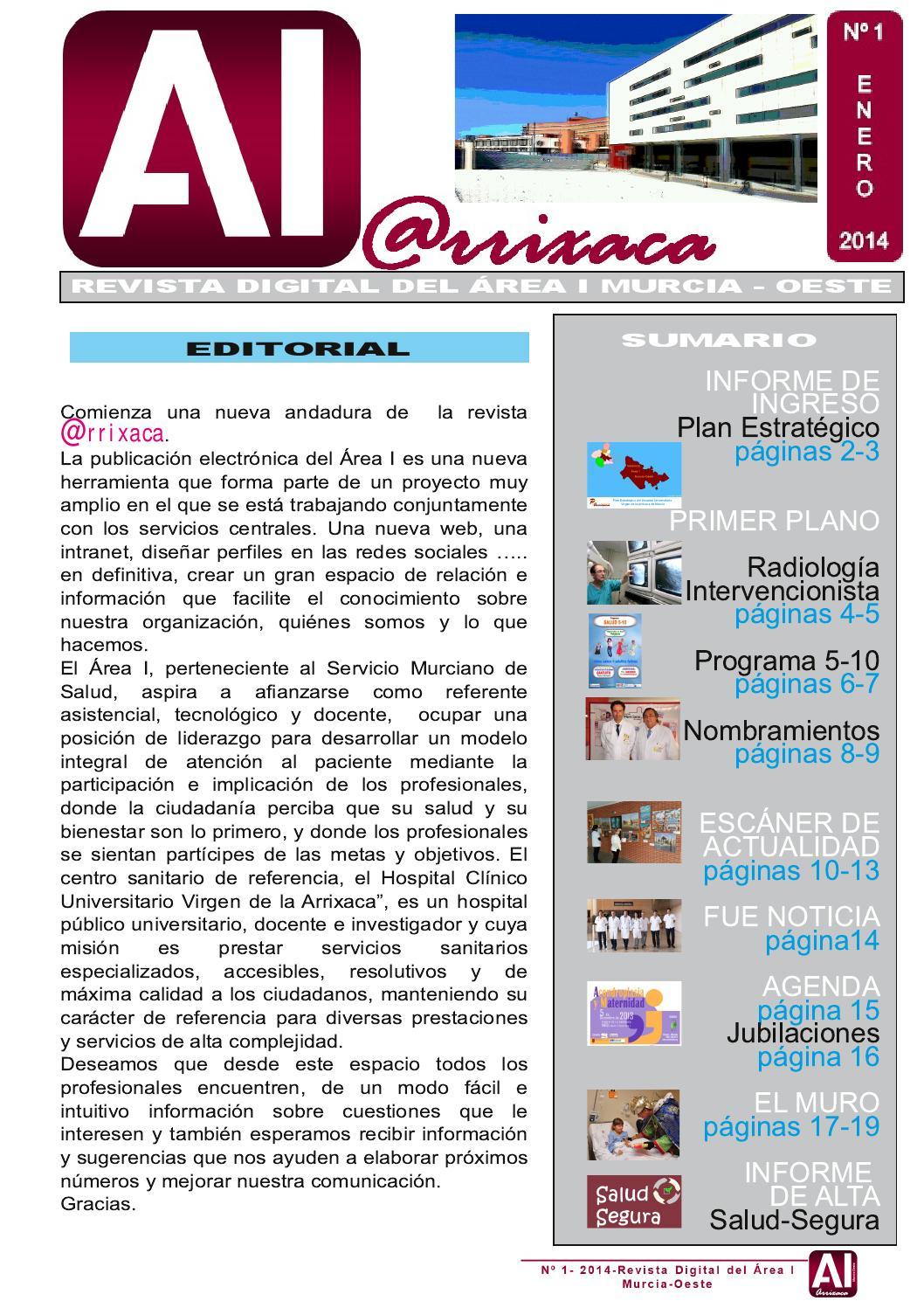 Revista At Rrixaca1 By Hcuva Issuu