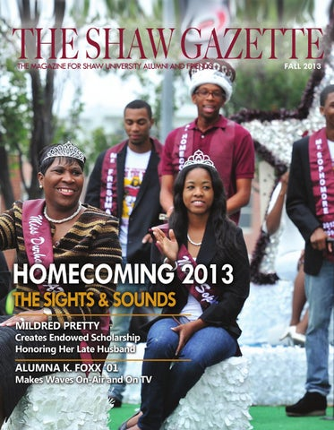 The Shaw Gazette By Shaw University   Issuu Part 42