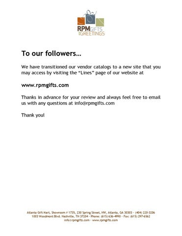 To our followers by rpm gifts and greetings issuu page 1 m4hsunfo