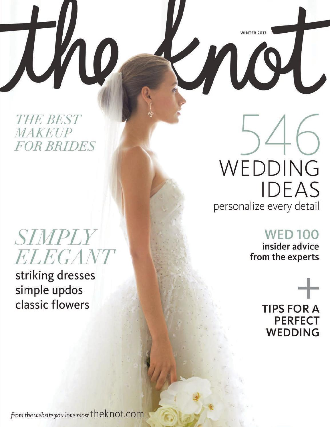 The Knot Winter 2013 by The Knot - issuu 64229dcfa53b