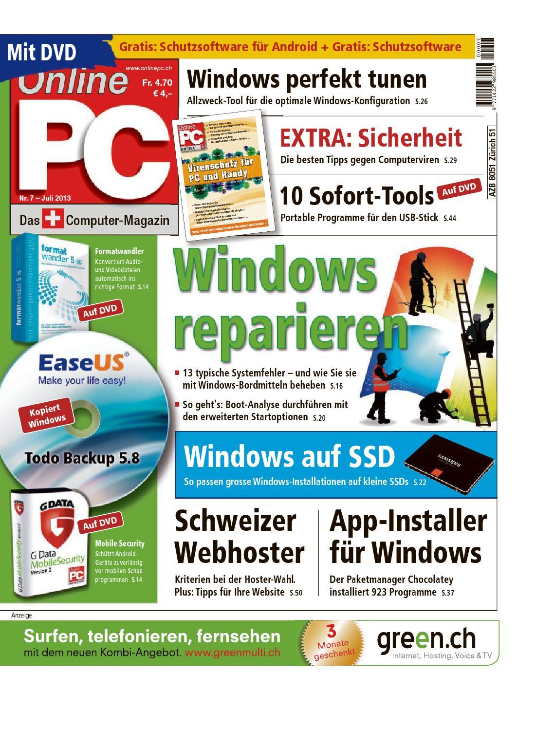 Online PC Magazin 07 2013 by Neue Mediengesellschaft Ulm - issuu