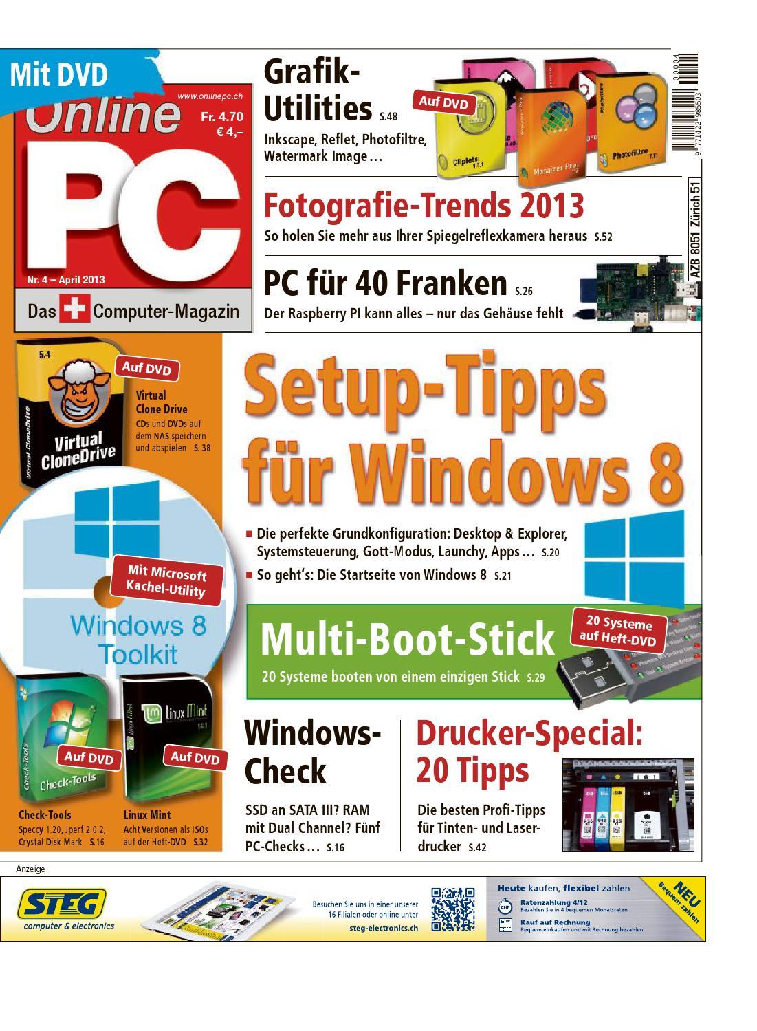 Online PC Magazin 04 2013 by Neue Mediengesellschaft Ulm - issuu