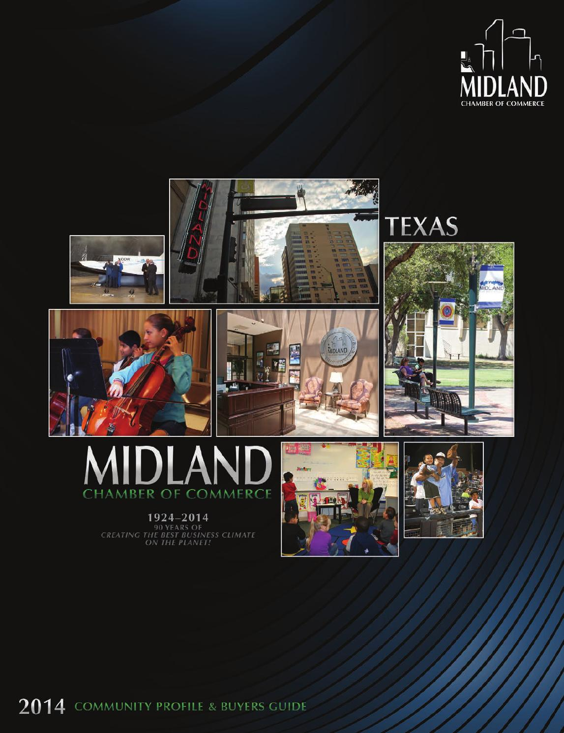 Midland Tx 2014 Community Profile And Buyers Guide By Tivoli Design