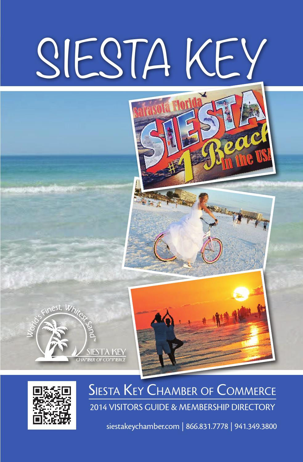 2014 Siesta Key Visitors Guide Membership Directory By Nancy