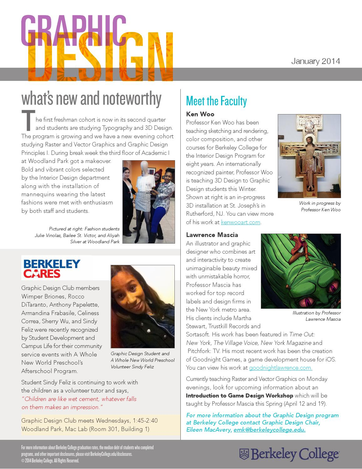 Prime Graphic Design Newsletter Jan 2014 By Berkeley College Issuu Home Remodeling Inspirations Genioncuboardxyz