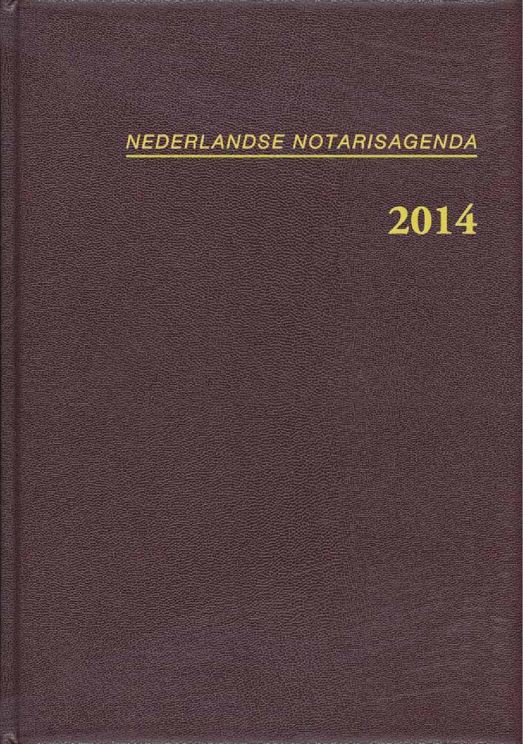 Notaris agenda 2014 by Louwers Uitgeversorganisatie BV - issuu
