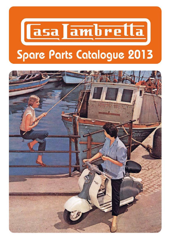 LI, LIS, SX, TV - since 1963, DL, GP Brake Light Switch CASA Lambretta 2 Wire
