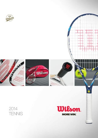 2014 Wilson Tennis Catalogue by Wilson Sporting Goods Co  - issuu