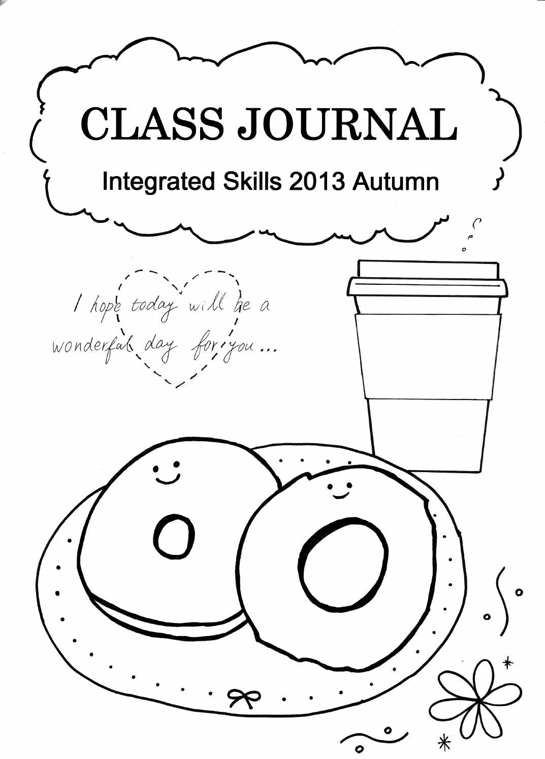 Integrated Skills Class Journal 2013B by Richard Pinner - issuu