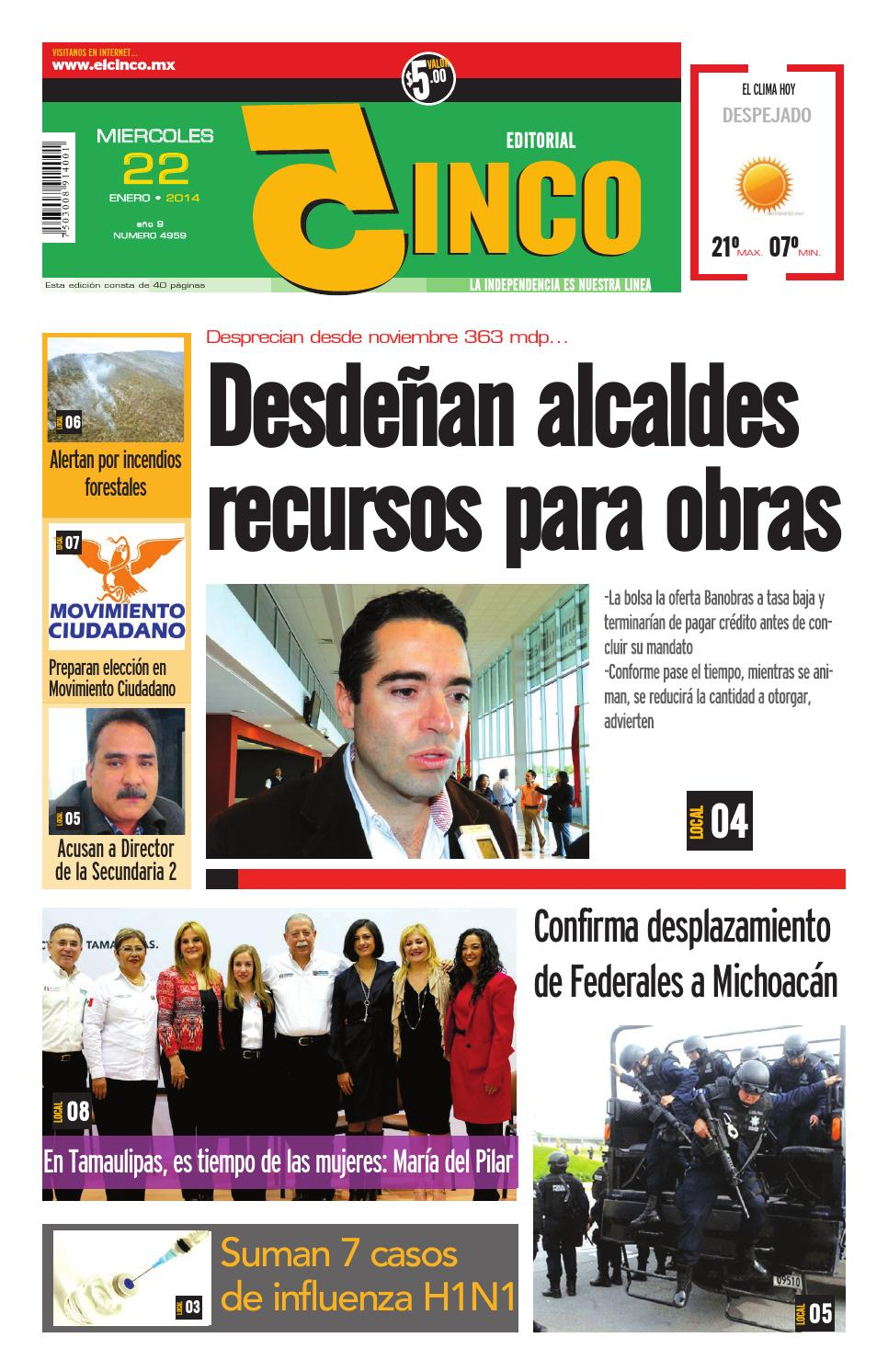 22012014 by Periodico 5inco - issuu