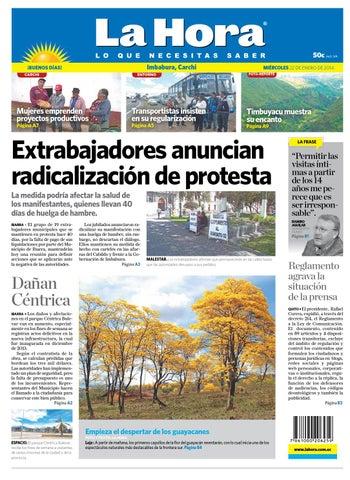 La Hora Imbabura enero 22 de 2014 by Diario La Hora Ecuador - issuu a67d4639eaa