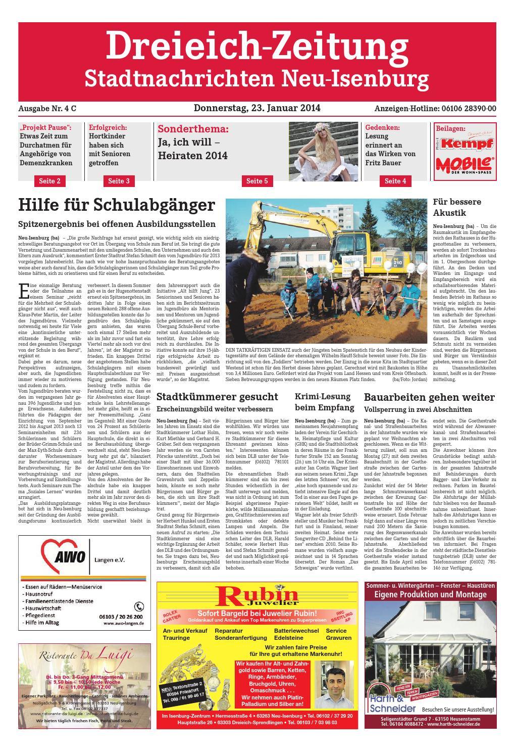 Dz online 004 14 c by Dreieich-Zeitung/Offenbach-Journal - issuu
