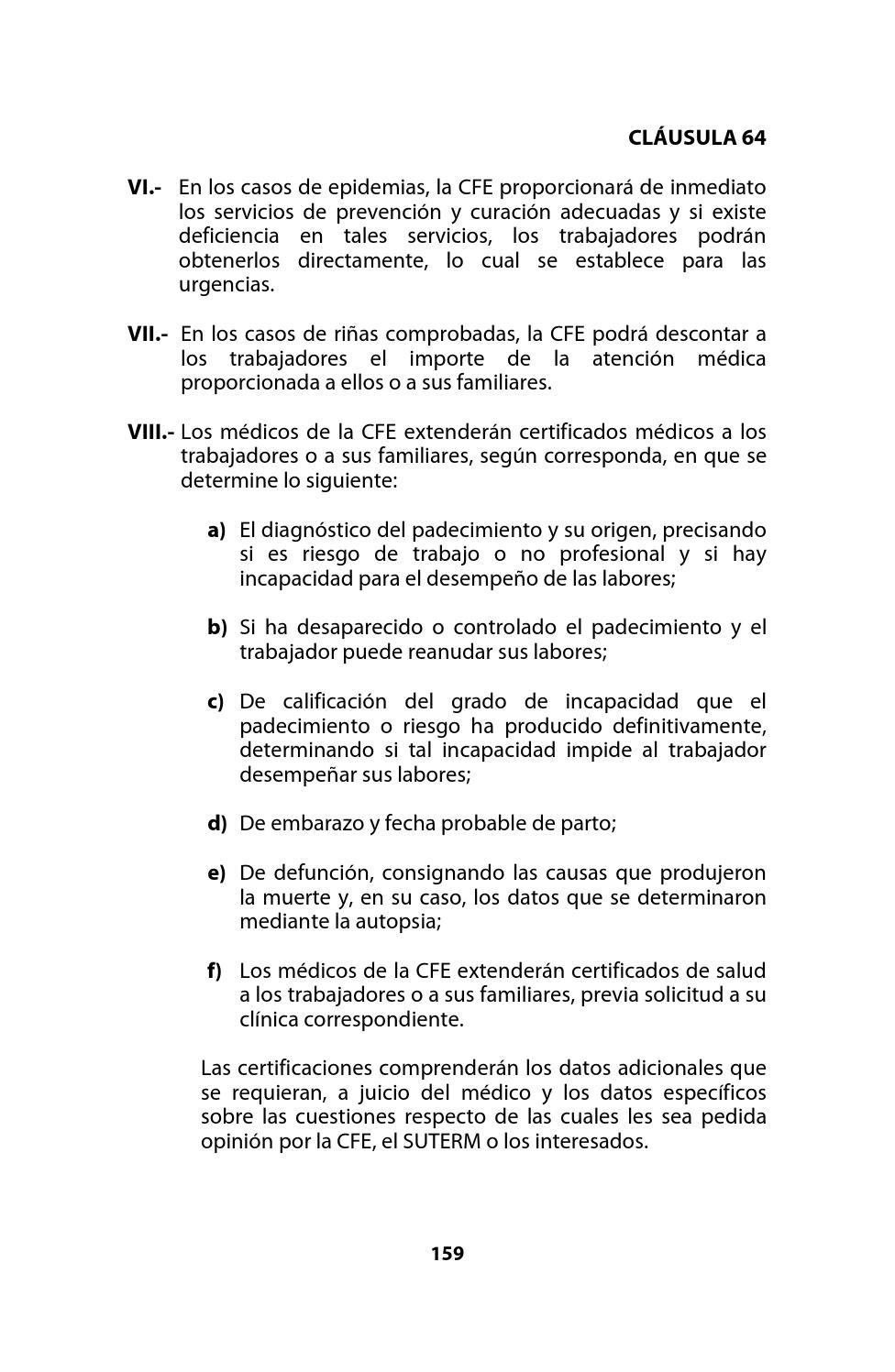 Contrato Colectivo de Trabajo CFE-SUTERM 2012- 2014 by Jose Antonio ...